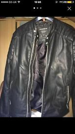 PULL & BEAR leather jacket