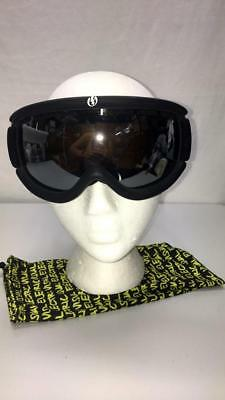 a795d5e3ebe9 Electric EG.5s Spherical CAT.2 Lens Snow Ski Snowboard Goggle Black Frame  NEW