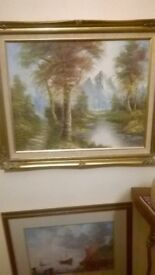 oil paintings collection original known artists