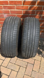 Goodyear Efficient Grip Tyres 215 60 16 Reinforced 99v 2016 x2