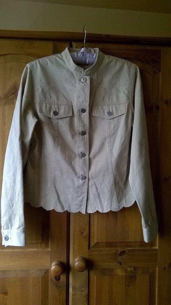 Ladies Liz Claiborne Embroidered Jacket