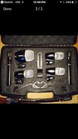 Shure PGDMK6XLR Drum Microphone Kit