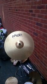 """20"""" Ride Paiste Cymbol and stand"""