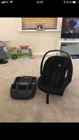 Manas & papas Car seat and isofix