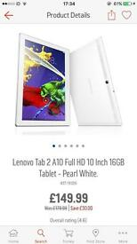 Lenovo Tab 2 A10 Full HD 10 inch 16GB
