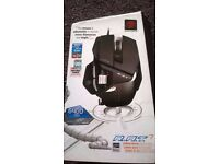 Mouse MGaming ad Catz R.A.T. 7 6400 dpi - NEW