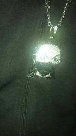 Balaclava Face Diamond Chain