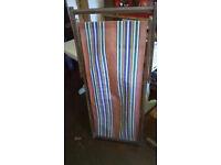 Vintage Folding Deckchair