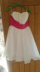 Prom dress fancy dress size 10-12 like new