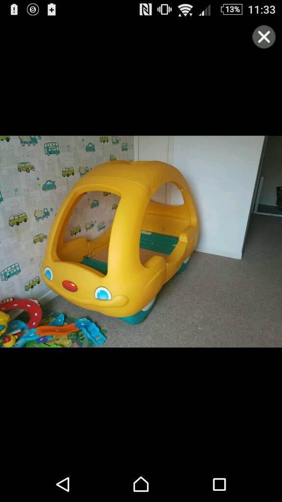 Tikes toddler bed
