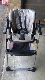 Used Chicco high chair