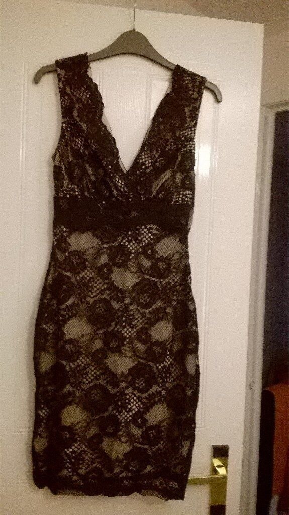 Lipsy black lace dress new size 10in East Kilbride, GlasgowGumtree - Lipsy black lace dress. New with tags. Size 10. Unwanted gift in need of a good home