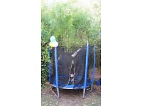 Trampoline small (diameter 6 ft, 180 cm)