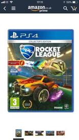 New sealed PS4 rocket league collectors edition game