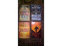 Scott Mariani Books x 4