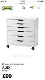 *WANTED* Ikea Alex Drawers