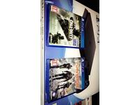 Sony PlayStation 4 Slim 500GB PS4 Console + 2 Games + Extra Controller + Now TV Box