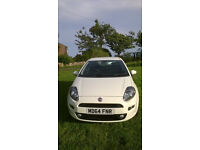 FIAT PUNTO 1.4 - VERY LOW MILEAGE - NO MOT DUE UNTIL MARCH 2018. SALE DUE TO ILL HEALTH OF OWNER.