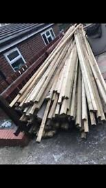 Timber 3x2 16 ft long approximately