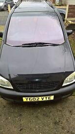 zafira 2.2 auto full leather spares or repair