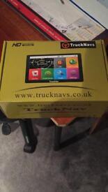 Lorry truck sat nav dash cam