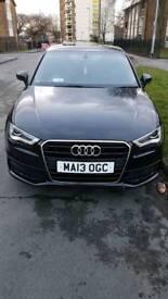 Audi A3 Sline 1.6 diesel 5door black