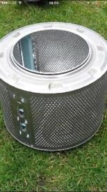 Washing machine drum. INCINERATOR, BBQ, FIRE PIT, PLANT POT ETC