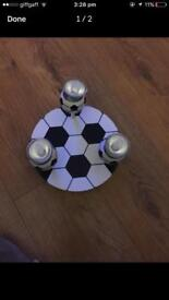 FOOTBALL Ceiling Light Fitting Used for 6 months Boys Room