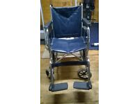 D.M.A easy folding leather wheel chair £40