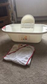 Baby Bath, top and tail and bath towel