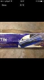 Tile cutter boxed