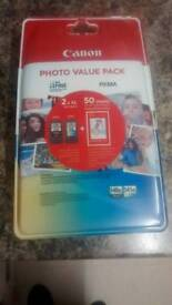 Canon PG-540XL and CL-541XL photo value pack multi coloured 2x ink tanks
