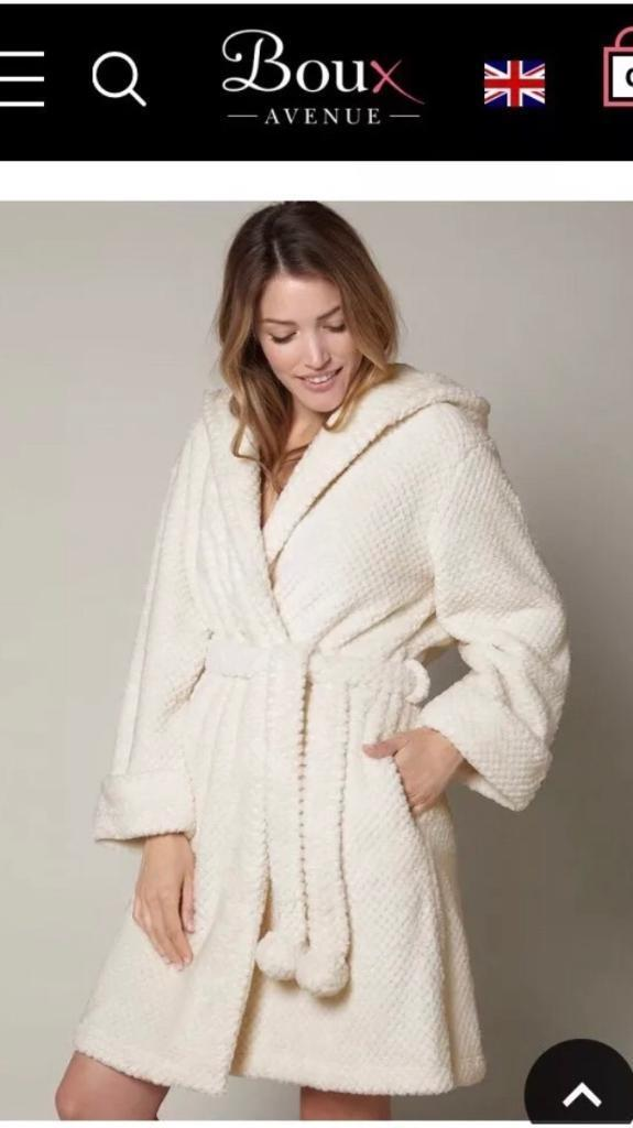 Boux Avenue Waffle Dressing Gown Robe In Salford Manchester