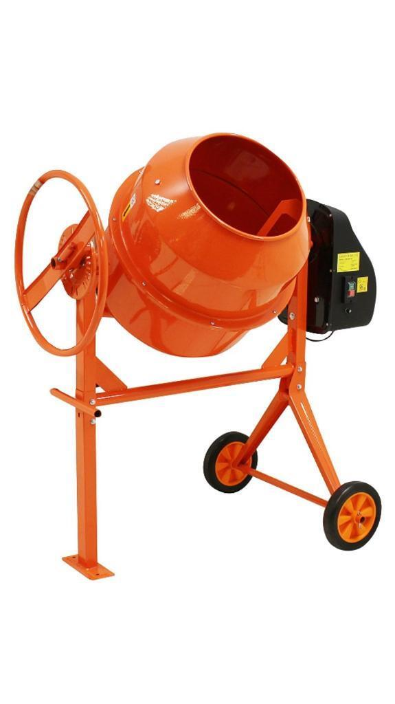 Heavy duty 140l portable eletric cement mixer