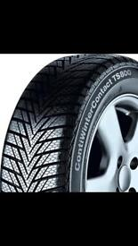 4 x Winter Continental tyres ContiWinterContact TS800 Size 175/65 R 14
