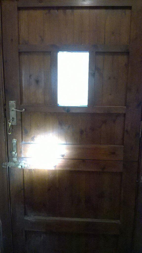 Mahagony Back Door