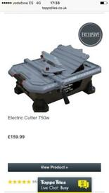Electric wet tile cutter very good powerfull machime