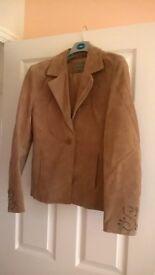 Light Brown Suede Jacket