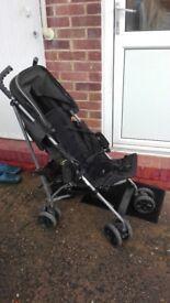 Black stroller from Mamas&Papas