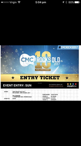 2x CMC tickets Sunday Only- Dixie Chicks Waterford Logan Area Preview