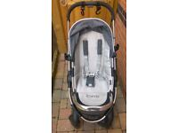 Icandy pushchair. peach 3 stroller system