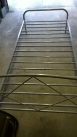 Single Metal bed frame 3ft x 6ft3in