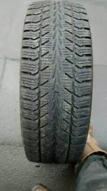 235/65/16c quality part worn uniroyal winter tyres