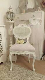 Stunning bedroom chair Laura Ashley fabric