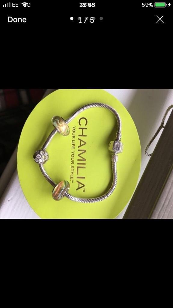 Genuine chamilia and charms