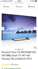 Panasonic TX-40CS520B 40 inch Full HD Smart