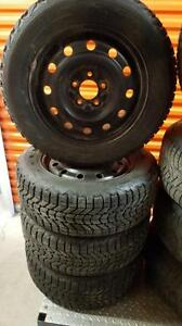 (23) Pneus d'Hiver - Winter Tires 215-60-16 Firestone