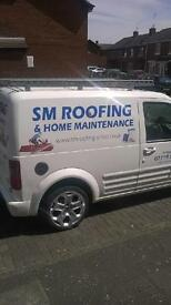 s.m roofing & home maintenance