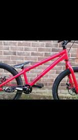 Inspired flow trials bike