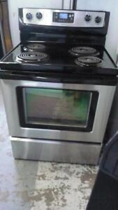 201- Four / Cuisiniere À SERPENTINS WHIRLPOOL WITH COIL Stove Oven